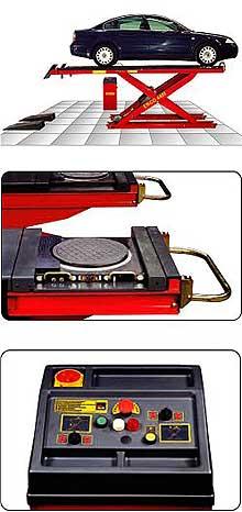 Подъемник ножничный электрогидравлический erco 4401 pt4 corghi нож spyderco byrd robin by10pbk